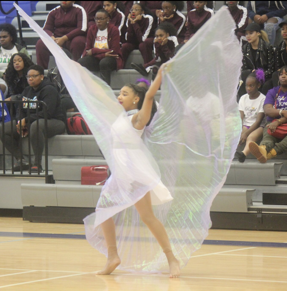 Performer at competition