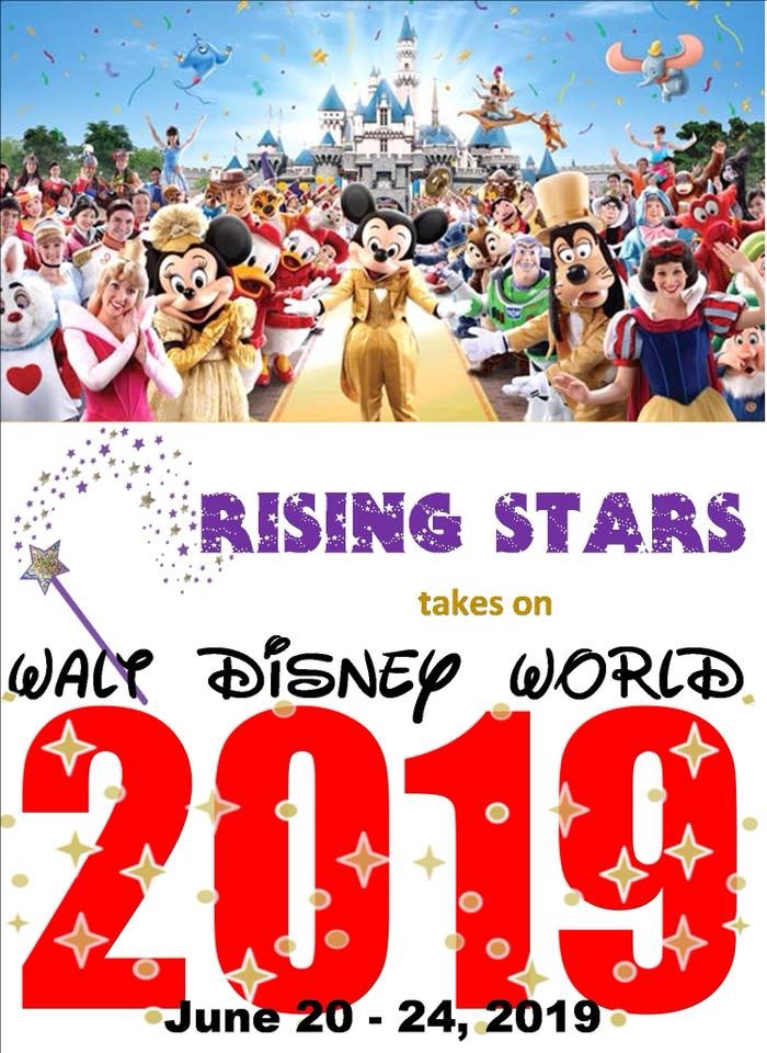 Rise to Disney for 2019